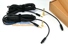 Replacement Coiled Headphones Cable For HDJ2000 HDJ 2000 RHP20 RHP 20 Headphones