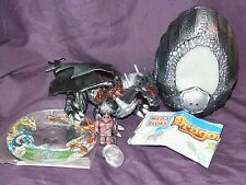 Mega Bloks Eclipse Dragon 9575 Darkcrown Illuminas complete w/ CD Trading Card