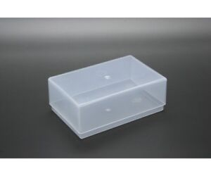 Clear Plastic Business Card / Craft Boxes - 97mm x 62mm x 36mm - Various Amounts