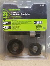 NEW Greenlee 7211BB-1 Slug Buster Knockout Punch Set *NEW*