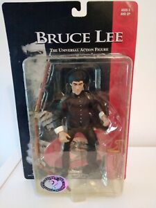 """1998 SIDESHOW TOY BRUCE LEE THE UNIVERSAL ACTION FIGURE 8"""" CLASSIC EDITION"""