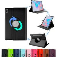 360 Rotating Leather Case Cover Stand For Samsung Galaxy Tab S6 LITE P610 P615