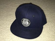 IN4MATION MADE STRONG SNAP BACK HAT NAVY aloha army farmers market