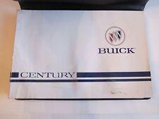 1996 BUICK CENTURY CAR OWNER'S MANUAL - TUB D