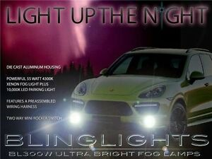 2011 2012 2013 2014 Porsche Cayenne Xenon Fog Lamps Driving Lights foglights Kit