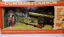 RARE vintage Hasbro COMMAND CANNON pirate playset 1960s complete antique toy !!!
