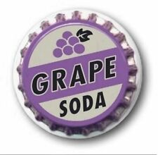 "GRAPE SODA - UP - 25mm / 1"" METAL BUTTON BADGE"