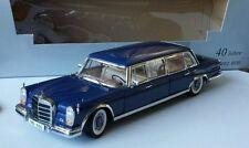Mercedes-Benz 600 W100 Pullmann blau limitiert Mercedes Benz Classic 1:18