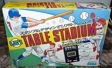 Rare LSI TABLE STADIUM BASEBALL Electronic Game w/Box SEGA Japan HANDHELD 1980's