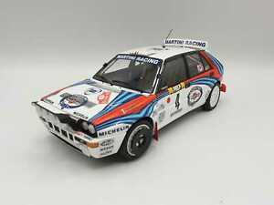 Lancia Delta rally Montecarlo 1992 Auriol 1/18 Kyosho (4)