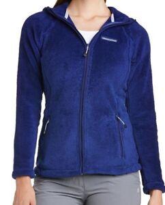 Craghoppers Women's Dahlia Hooded Fluffy Fleece Jacket Twilight Size 8
