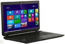 TOSHIBA 15.6in Business LAPTOP 1.7Ghz 8GB 1TB DVDRW Win 10 Black
