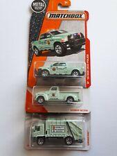 Matchbox * NATIONAL PARK *  Forest Ranger & Services Truck X 3🔥🔥