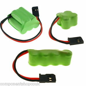 4.8v 6v 120-400mAh Vapex Miniature Receiver Rechargeable Ni-MH RX Battery Pack