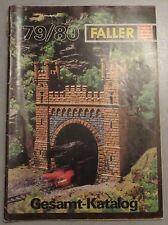 Faller Modellismo Anno Catalogo 1979/80