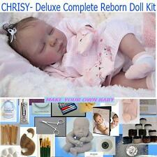 DELUXE Reborn doll  kit for Beginning artist, Complete Starter kit, DVD,Chrisy
