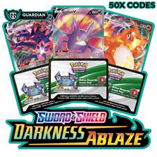 50x Darkness Ablaze Pokemon TCGO PTCGO TCG Online Codes