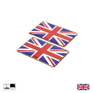 England Wing Badges Emblem Badge Motorsport Union Jack Mini Jaguar Aston
