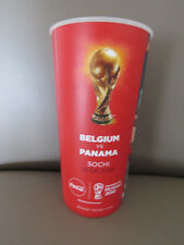 Gobelet du match Beer Cup 2018 FIFA World Cup Belgium Panama Diables Rouges