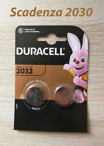 Duracell CR2032 / DL2032 / BR2032 - Blister n°2 batterie a bottone - 3V Lithium