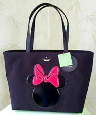 Kate Spade Pxru6509 Minnie Mouse Francis Tote Bag Disney Black Red