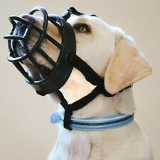 BaskerVille Ultra Muzzle for Dogs - Size 5 - Extremely Tough Durable