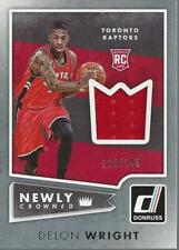2015-16 Donruss Newly Crowned Rookie Jerseys #11 Delon Wright Jersey /149 -NM-MT