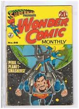 Colour Comics Pty Ltd Superman Presents Wonder Comics Monthly #86 Fine- 1972Aust