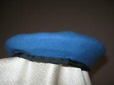 UNUSED Vintage 1988 United Nations UN Dainong Co Wool Blue Beret Hat Cap 6 7/8