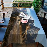 3D Planet Peaks 8 Tablecloth Table Cover Cloth Birthday Party Event AJ WALLPAPER