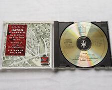KUIJKEN-LA PETITE BANDE / HAYDN Symphonies 82, 83 & 84 - UK  CD VIRGIN (1989) NM