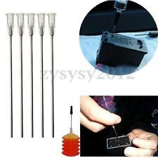 """1pcs White Blunt Dispensing Needles Syringe Needle Tips 4"""" inch 14 Gauge"""