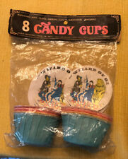 Vintage 1975 Unused In Bag Rare The Wizard Of Oz Candy Cup Containers