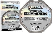 Angelschnur KONGER World Champion Fluorocarbon Coated 0,10-0,30mm/150m Monofile