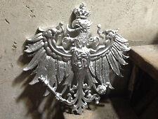Gigantischer Preussen Adler, FRIEDRICH DER GROße 38x38cm aus Metallguss F REX