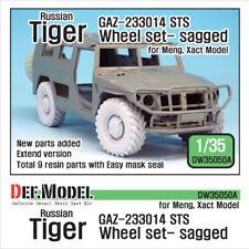 DEF. modello, DW3050A, GAZ-233014 STS TIGER eccesso Ruota Set 1 (per Meng-Xact), 1:35