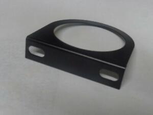 1-fach Halter / Konsole f. 60mm Instrumente Gauges Mattschwarz pulverbeschichtet
