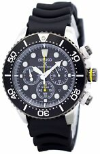 Seiko Solar Chronograph SSC021 SSC021P1 SSC021P Mens Watch