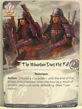 Legend of the five rings LCG - 1x #138 the Mountain does not caso-Base Set