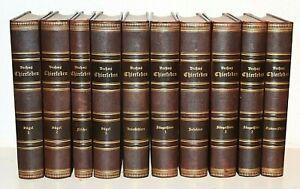 BREHMS THIERLEBEN,ALLGEMEINE KUNDE DES THIERREICHS,10 PRACHTBÄNDE,1883,RAR