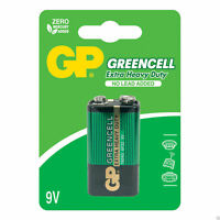 GP Greencell Extra Heavy Duty 9V Square Battery with No Lead Added