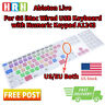 Ableton Live Silicone Keyboard Cover  for iMac G6 Numeric Keypad A1243 MB110LL/B