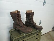 WWII Korea Jump Combat Boots Originals Russet Leather (8D) #3