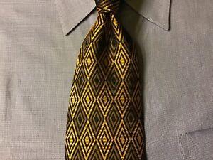 "Alvaro Castagnino Silk Tie Multi-Color Geometric Design ""New"""