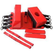 Red Reusable Head Immobilizer CID Ambulance Head Block System EMT Adjustable FDA
