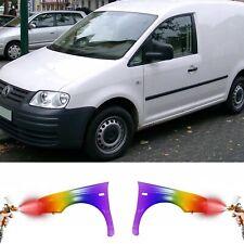 VW Caddy 2003-2010 KOTFLÜGEL VORNE PROFESSIONELL LACKIERT IN WUNSCHFARBE NEU!