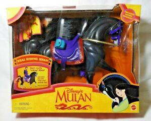 (DISNEY'S) MULAN (KHAN THE RIDING HORSE) 1997 (MATTEL) NEW!!