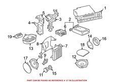 For BMW Genuine Speaker Cover Left 51418224011
