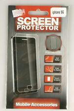 PRL) iPHONE 5 G SCREEN PROTECTOR SCHERMO PROTEZIONE ANTI REFLEX SCRATCH TOUCH