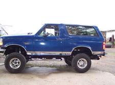 "1984-1993 Ford Bronco II 2 Stainless Rocker Panel Trim Bodyside Molding 5"""